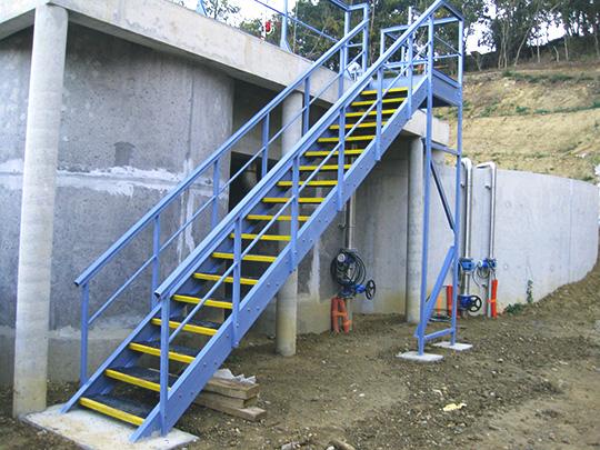 escalier-composites